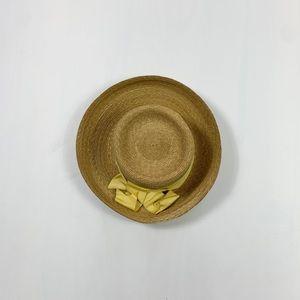Peter Beaton straw hat
